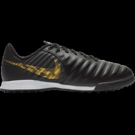 Nike Legend 7 Academy TF Nero Oro Bambino