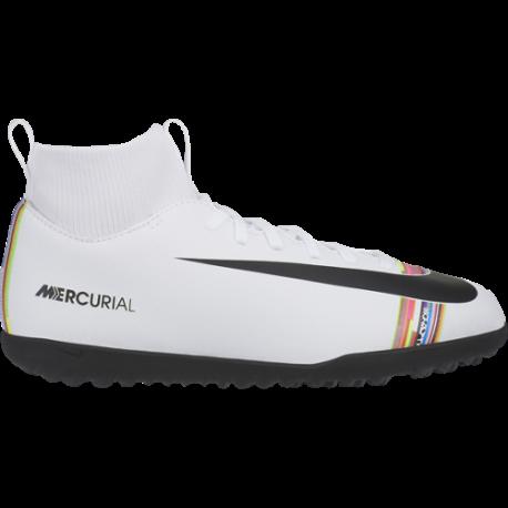 Nike Superfly 6 Club CR7 TF Bianco Nero Bambino