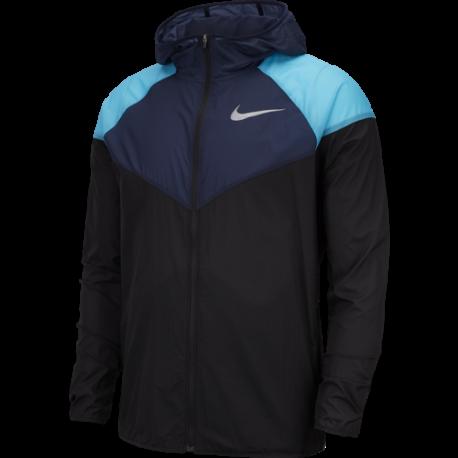 Nike Giacca Running Windrunner Nero Uomo