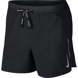 Nike Short Running 5in Flex Stride Nero Argento Uomo