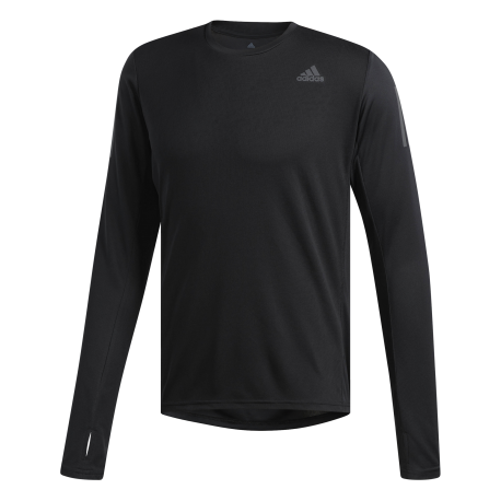 Adidas Maglia Running Manica Lunga Own The Run Nero Uomo
