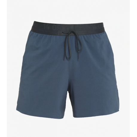 Nike Short Running 5in Flex Stride Tech Pack Blu Grigio Uomo