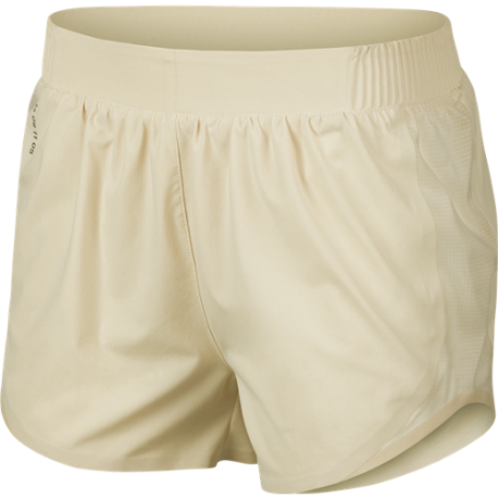 Nike Short Running Tempo Tech Pack Crema Donna