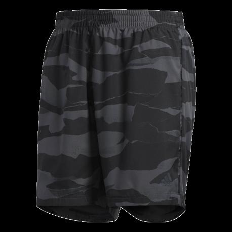 Adidas Short Running Camouflage Uomo
