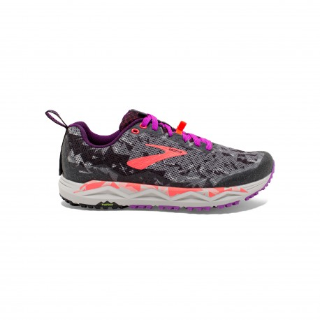 Brooks Caldera 3 Nero Viola Corallo Donna
