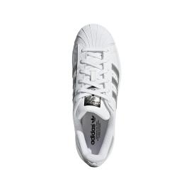 Adidas Superstar Bianco Argento Donna