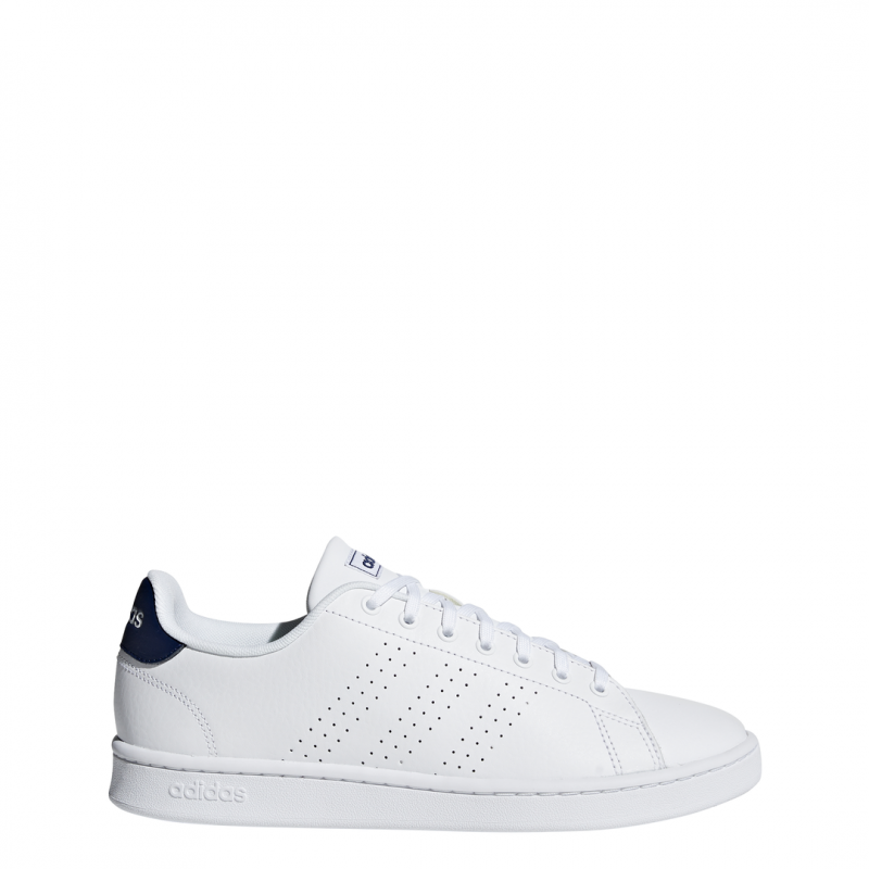 ADIDAS sneakers advantage bianco blu uomo