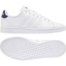 Adidas Advantage Bianco Blu Uomo
