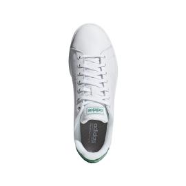 Adidas Advantage Bianco Verde Uomo