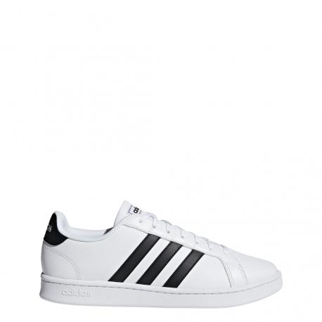 Adidas Grand Court Bianco Nero Uomo