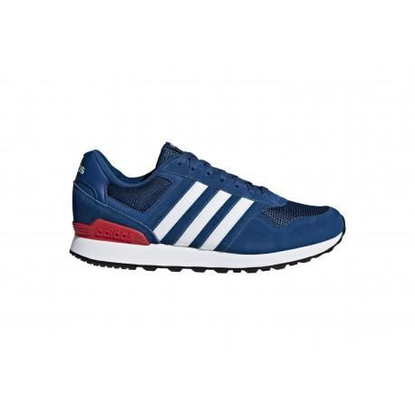 Adidas 10K Blu Bianco Uomo