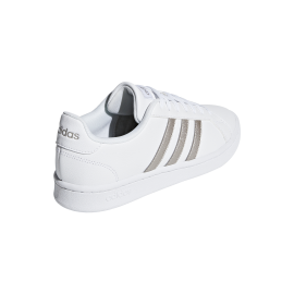 ADIDAS sneakers grand court bianco platino donna