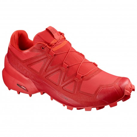 Salomon Speedcross 5 Red Donna