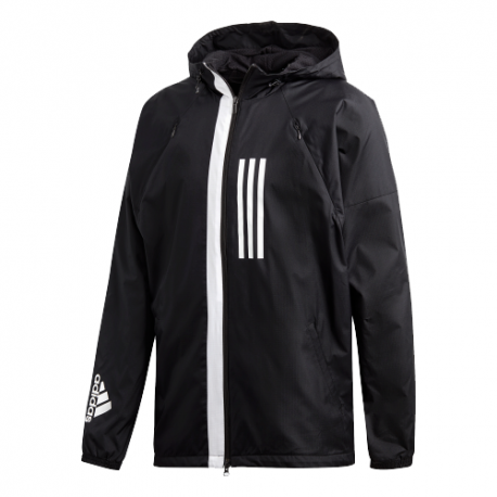 Adidas Wind Jacket Fleece Uomo Nero