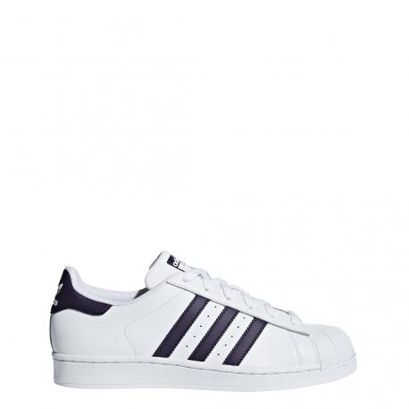 best sneakers b248e c5e17 Adidas Superstar Bianco Viola Donna ...