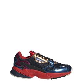 Adidas Falcon Blu Rosso Donna