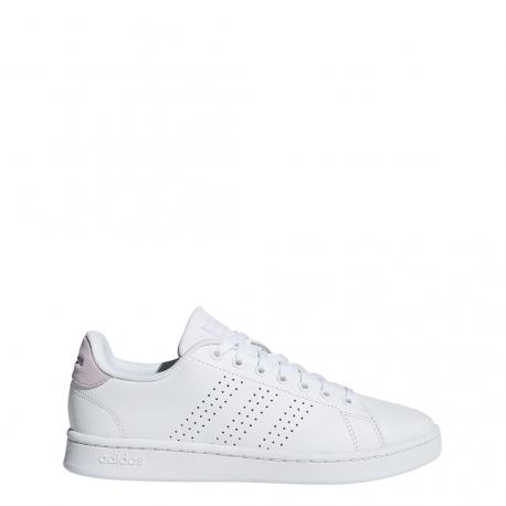 Adidas Advantage Bianco Rosa Donna