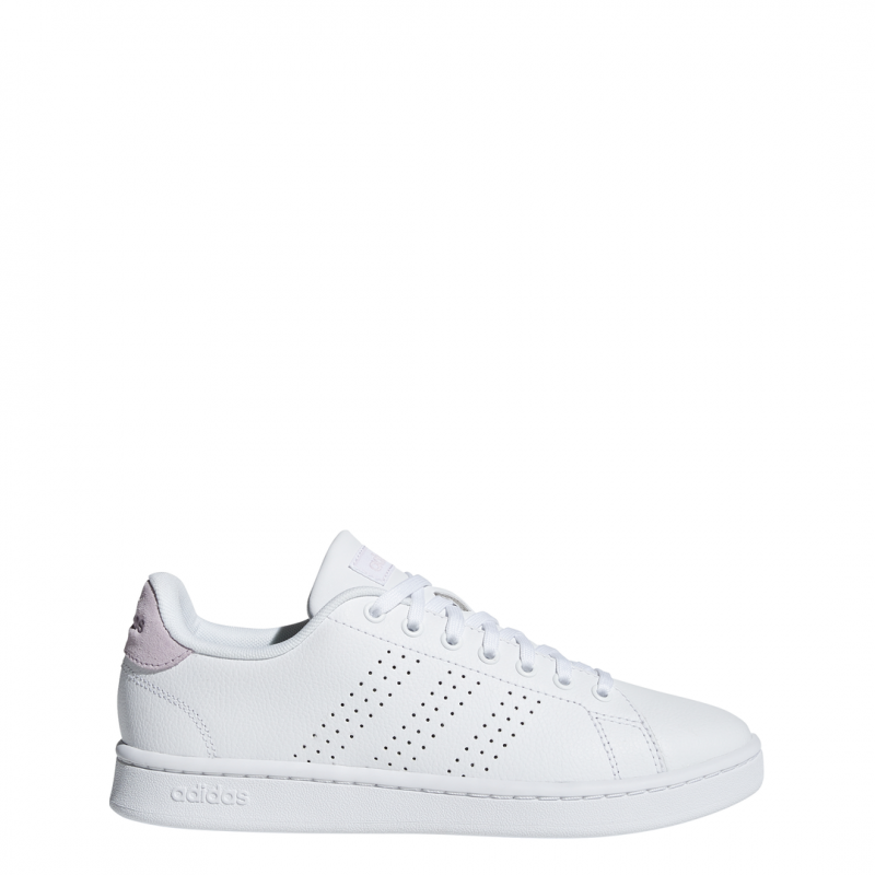 ADIDAS sneakers advantage bianco rosa donna