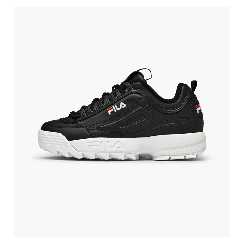 Fila Disruptor Low Nero Donna