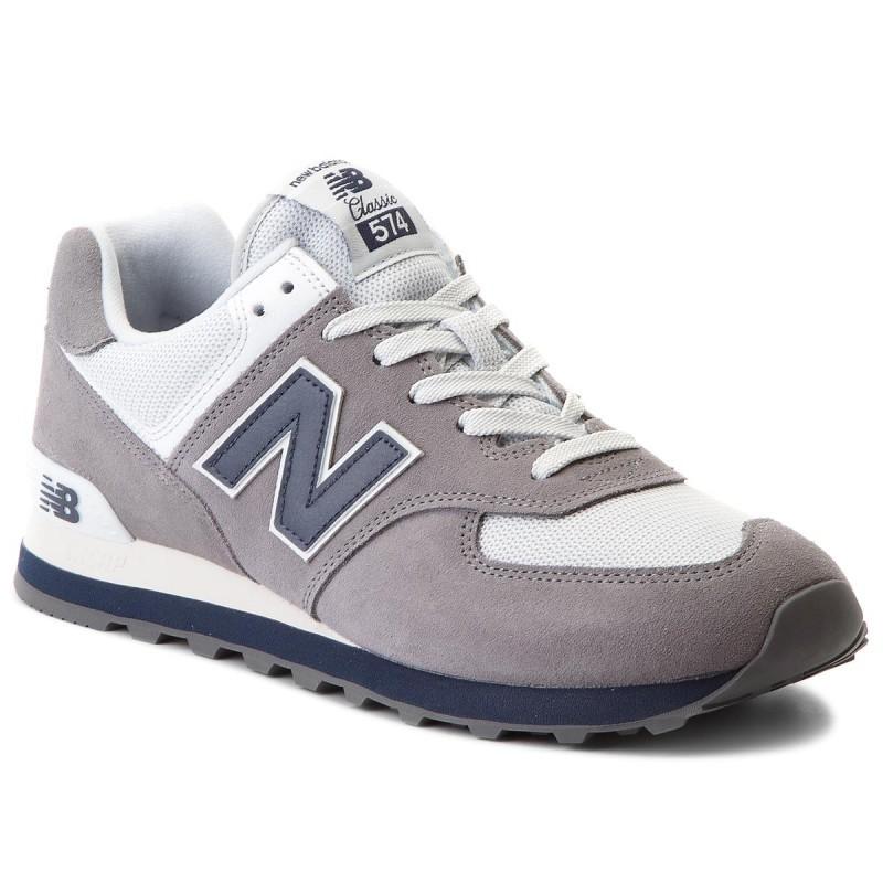 new balance 574 grigio uomo