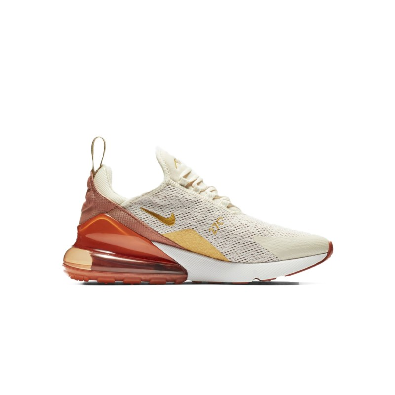 sneakers for cheap 56698 b6417 Nike Air Max 270 Essential Bianco Oro Donna