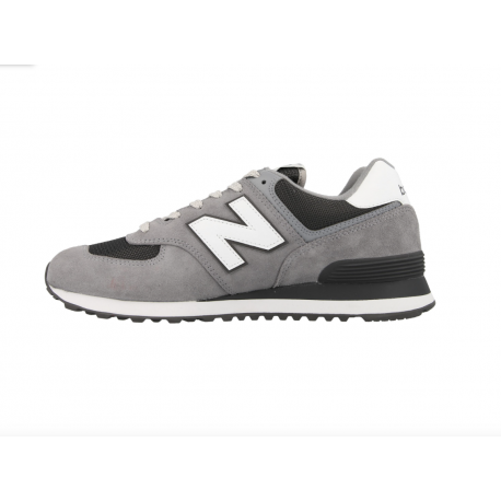 New Balance 574 Grigio Bianco Uomo