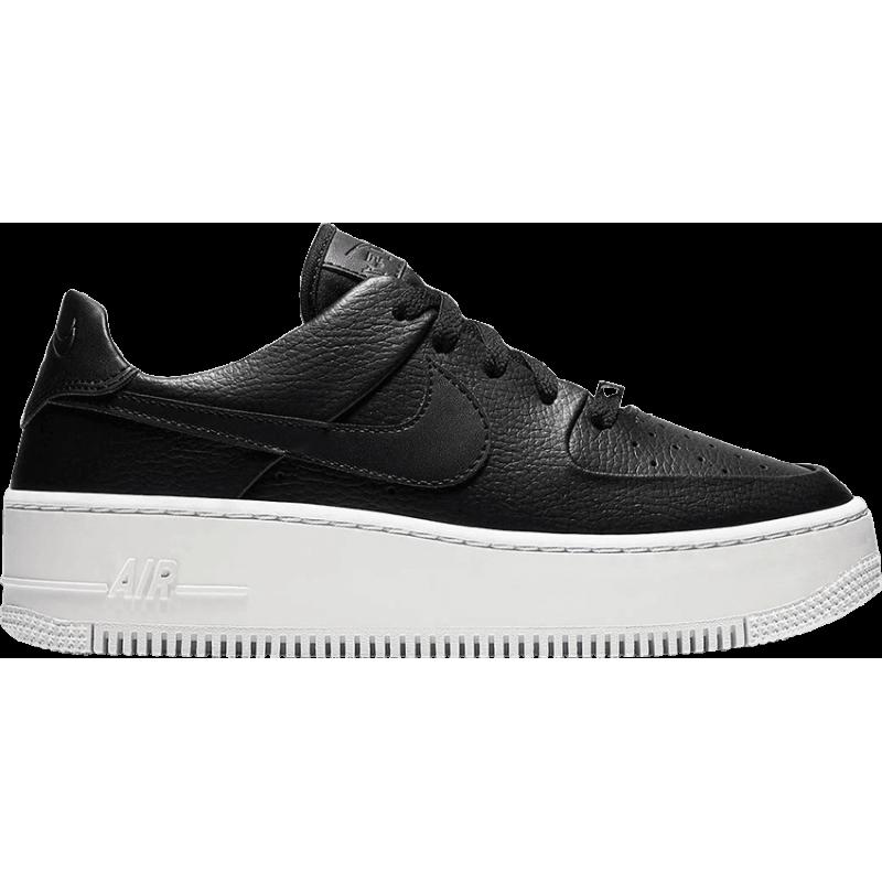 6bbb0d8868 Nike Air Force 1 Sage Platform Nero Donna - Acquista online su Sportland