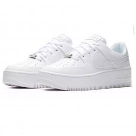 Nike Air Force 1 Sage Platform Bianco Donna