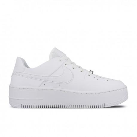low priced 2527b 74004 Nike Air Force 1 Sage Platform Bianco Donna ...