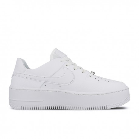 Nike Air Force 1 Sage Platform Bianco Donna