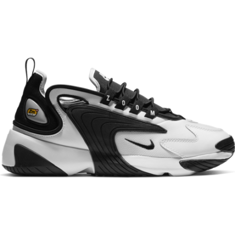 Nike Zoom 2K Bianco Nero Uomo