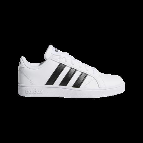 Adidas Baseline K Bianco Nero Bambino