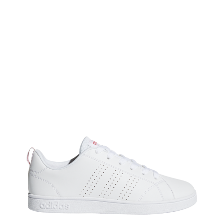 outlet store a7ac5 91d6a Adidas VS Advantage Clean K Bianco Rosa Bambino ...