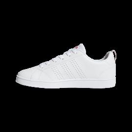 Adidas VS Advantage Clean K Bianco Rosa Bambino