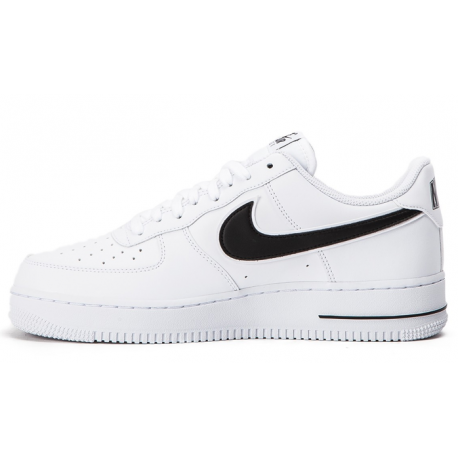 more photos b5967 23969 Nike Air Force 1 Bianco Nero Uomo ...