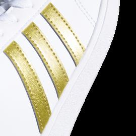 Adidas Baseline K Bianco Oro Bambino