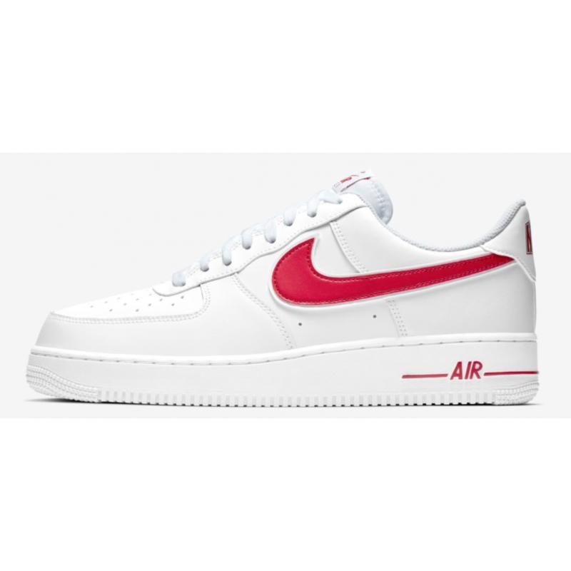 buy popular 06adf 2f12a Nike Air Force 1 07 Bianco Rosso Uomo