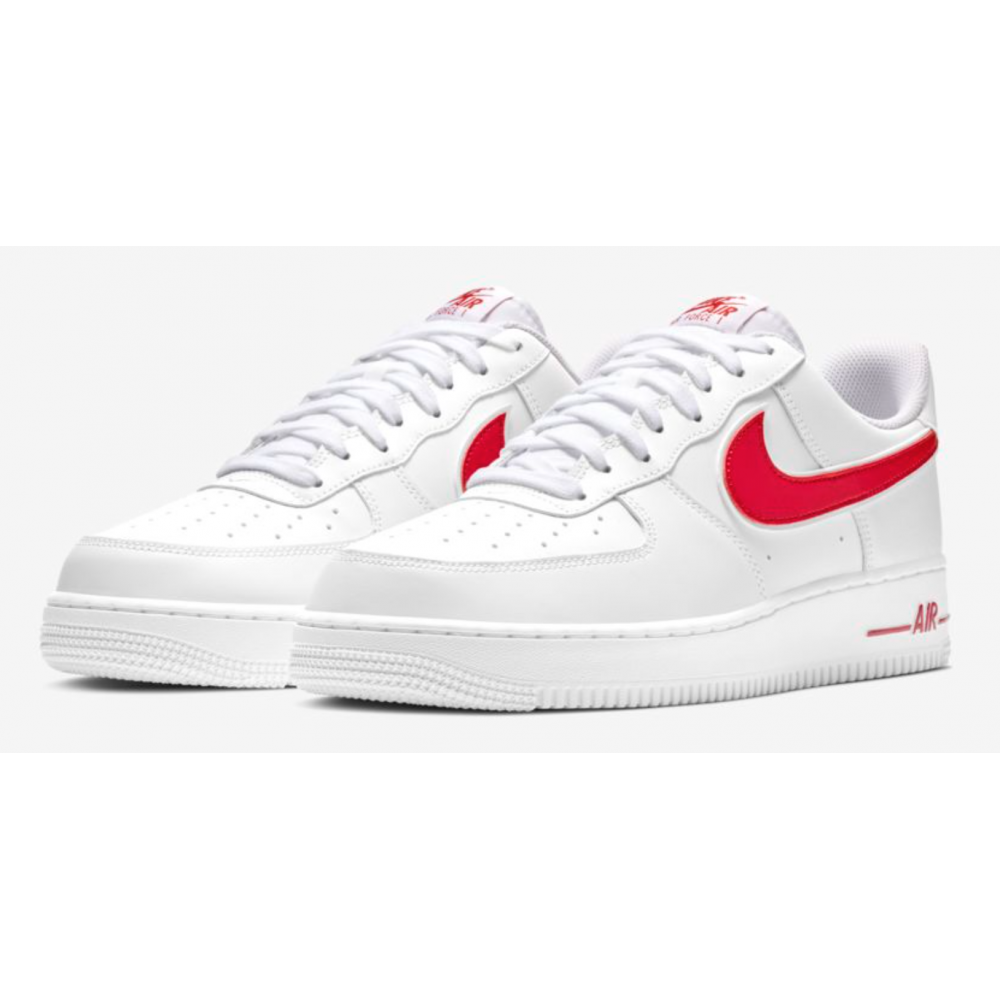 5643483f49 Nike Air Force 1 07 Bianco Rosso Uomo - Acquista online su Sportland