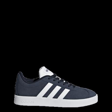 Adidas VL Court 2.0 K Nero Bianco Bambino