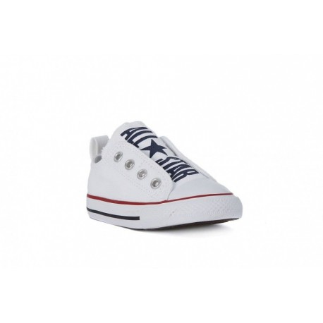 9b4bffdf4b8124 ... Converse Chuck Taylor All Star Slip On Ox Bianco Bambino
