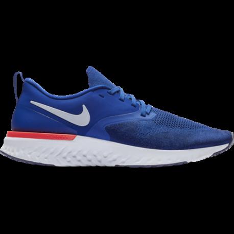 Nike Odissey React Flyknit 2 Blu Bianco Uomo