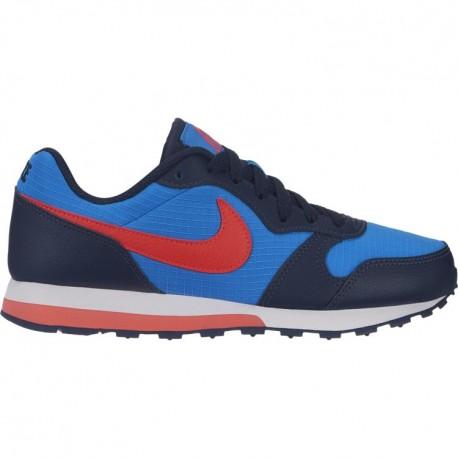 Nike Md Runner 2 GS Blu Rosso Bambino