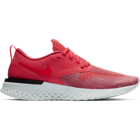 Nike Odyssey React Flyknit 2 Arancio Rosso Donna