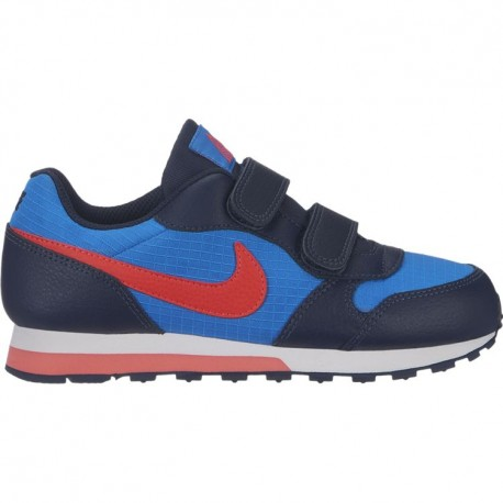 Nike Md Runner 2 PSV Blu Rosso Bambino