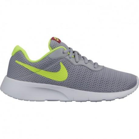 Nike Tanjun GS Grigio Lime Bambino