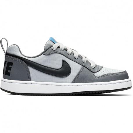 Nike Court Borought Low GS Bianco Nero Bambino