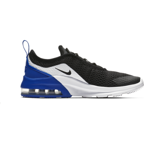 Nike Air Max Motion 2 PS Nero Blu Bambino