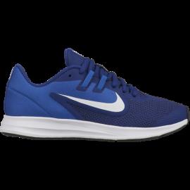 Nike Downshifter 9 GS Blu Bianco Bambino