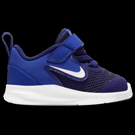 Nike Downshifter 9 TD Nero Rosa Bambino
