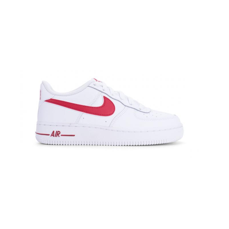 reputable site af571 577ee Nike Air Force 1 1-3 GS Bianco Rosso Bambino